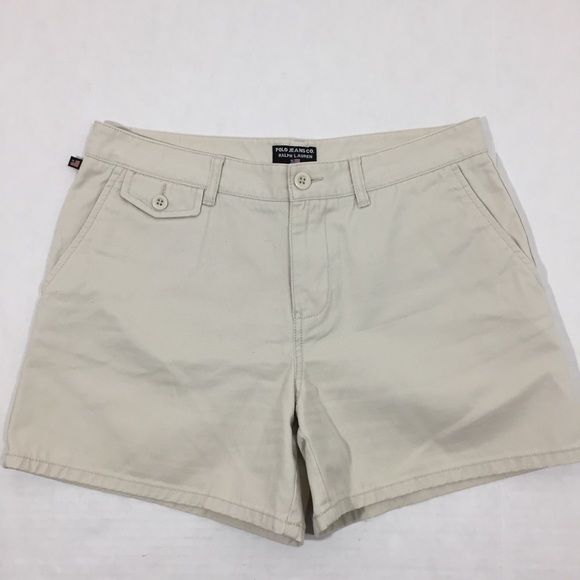 1b717933d Polo by Ralph Lauren Shorts | Womens Polo Ralph Lauren Khaki Tan 8 ...